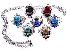 Touirch Anime Black Butler Kuroshitsuji Rings Alloy Jewelry Of Cosplay Necklace