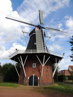 molen de Aeoles Oldehove. Groningen. The Netherlands