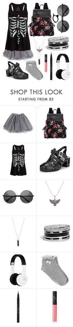 """Summer Witchy 04"" by tippedthehourglass ❤ liked on Polyvore featuring Madden Girl, The Rogue + The Wolf, Alex and Ani, Karen Kane, GUESS, Nixon, Oasis, Stila, NARS Cosmetics and stregafashion"