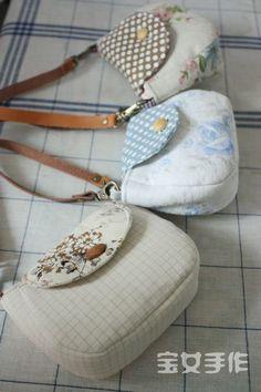 Mano femminile Che ha Fatto tesoro -! Una piccola borsetta oro esercitazione Passaggi dettagliati e Disegni ~