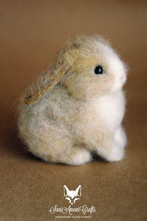 Afbeeldingsresultaat voor armature rabbit #feltanimalsdiy