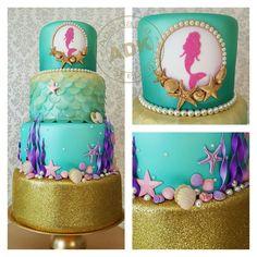 Marmeid cake - sereia