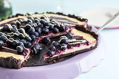 Oreo White Chocolate Tart mit Blaubeeren #instabakelovers