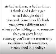 """I thank God I didn't get what I thought I deserved"" - Carrie Underwood 