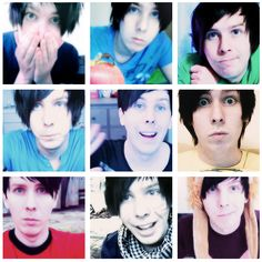 Awe Phil you're so adorable. Sometimes I forget how old he is, but I guess the 2 is silent British Youtubers, Best Youtubers, Llamas With Hats, Dan And Phill, Phil 3, Danisnotonfire And Amazingphil, Tyler Oakley, Meme Lord, Phil Lester