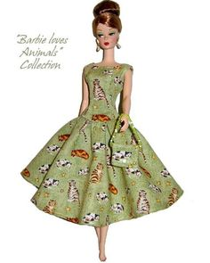 free barbie patterns | How Make Free Barbie Doll Clothes Pattern Pic #20: