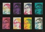 The smARTteacher Resource: Pop Art Self-Portrait Prints. Try with the styrofoam print boards...