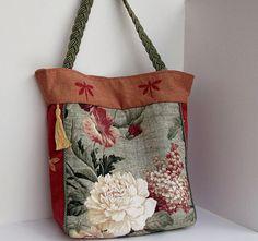 Tote Bag  Shoulder Bag  Over the Shoulder Bag  Quilted ♥ by ClassA, $79.98