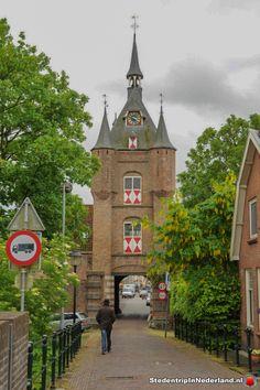Lekpoort Vianen (15 eeuw) Holland Netherlands, Gate House, Homeland, Travel Around, Big Ben, Dutch, Germany, Tower, Fantasy