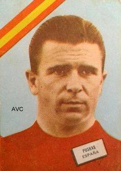 PUSKAS (Selección Española - 1962)