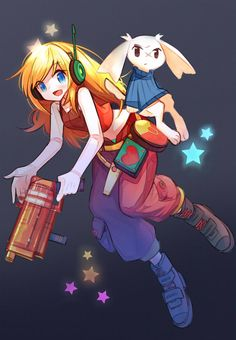 Curly Brace and Sue Sakamoto | Cave Story