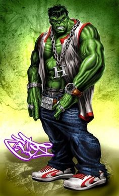 Hulk Got it on Smash by Christian Cortes