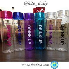 I like the purple one or the pink one. Sipping Schedule™ Motivational Water Bottle