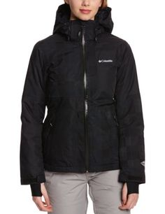 Columbia Womens Parallel Descent Jacket Black XLarge * Continue to the product at the image link.