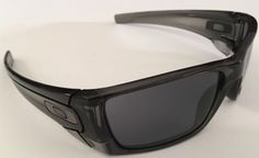 OAKLEY FUEL CELL CRYSTAL BLACK/ GREY---CUSTOM!!!