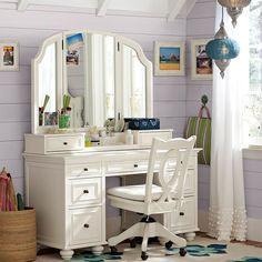 What To Expect From French Vanity Desk 187 Makeup Vanity With Drawers, Vanity Desk, Furniture Vanity, Ikea Vanity, Makeup Vanities, Mirror Vanity, Danish Furniture, French Vanity, Vintage Vanity