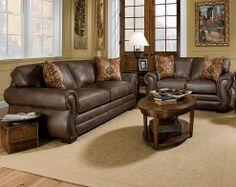 Superieur Ulysses Chocolate Sofa U0026 Loveseat | Living Rooms | American Freight  Furniture