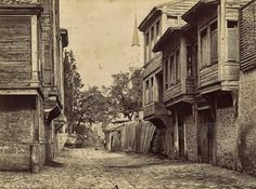 Istanbul, Turkey from 1870s-1900s, taken by Swedish photographer Guillaume Berggren.
