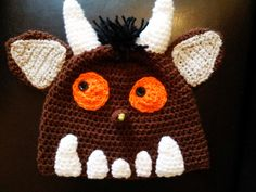 Someone elses first Crochet attempt at the Gruffalo :-) - I may have to have a go too