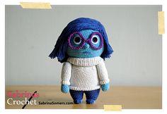 Make It: Sadness From Inside Out - Free Crochet Pattern #crochet #amigurumi #free #ravelry