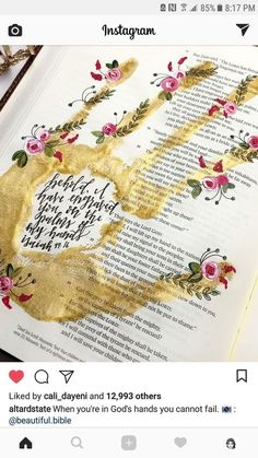 Painting quotes bible art journaling 19 Ideas for 2019 Bible Study Journal, Scripture Study, Bible Art, Bible Quotes, Art Journaling, Scripture Doodle, Scripture Journal, Bible Drawing, Bible Doodling