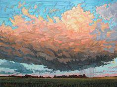 Evening Rain by Ken Faulks.
