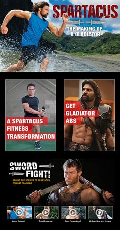 #Spartacus: The Making of a #Gladiator