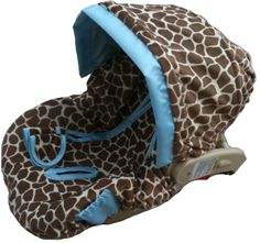 Giraffe Car Seat Cover... obsessed