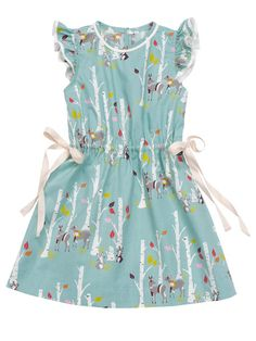 60e631a8a Drawstring Dress with Ruffled Sleeves 08/2014 #147. Sewing Projects ...