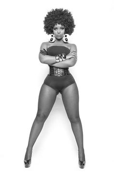 I need to love my thick if only it was this smooth.   http://www.shorthaircutsforblackwomen.com/is-the-fashion-world-warming-up-to-natural-hair/   This is wat I think my thighs look like and I doubt they are going ne where but I need them to b all muscle
