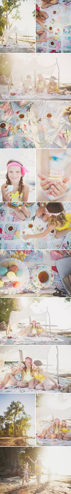 A beach tea party! » simply rosie photography
