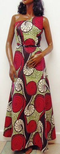 African Print/Ankara Maxi One Shoulder Dress by Louvoshine on Etsy, African Dress, African Clothes, African Style, African Print Fashion, African Prints, All Fashion, Womens Fashion, Virtuous Woman, Ethnic Chic