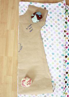 Zaaberry: Girls Tunic Dress - TUTORIAL #sewing #Free #pattern