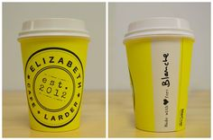 Our fabulous BioCups have arrived at Elizabeth Cafe & Larder! Stop in and grab a takeaway coffee made with  for you!