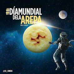 La arepa tiene su día mundial. Hoy como cada segundo sábado de septiembre se celebra esta efeméride.  #SencillamenteDelicioso  @Regrann from @cesarcocinero -  Hoy se celebra el #díamundialdelaarepa y yo los invito a contarle a todo el mundo. Pueden publicar esta imagen en sus cuentas elevemos juntos la bandera de nuestra #Arepa  #diamundialdelaarepa #arepas #Regrann #Orinokiamall #DondeTodoSeUne