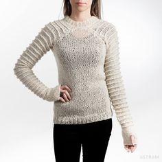 Beautiful sweater by Rebekka á Fjallinum.