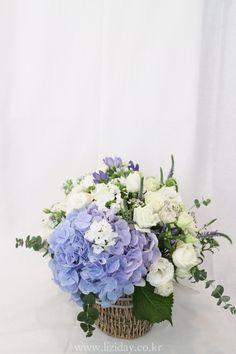 대형 꽃바구니 디자인 공민지 팬미팅 꽃배달 _ Liziday Flower Gift Design Studio 안녕하세요 서울 ...