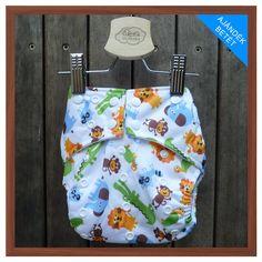 Zsebes mosható pelenka, velúr textil belső anyaggal G2-S DP 50