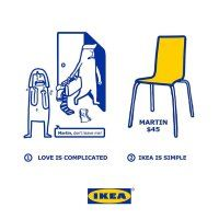 Love is complicated, Ikea is simple