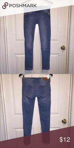 Light blue low waist skinny jeans Light blue low waist skinny jeans. Gently used, in great condition! H&M Jeans Skinny