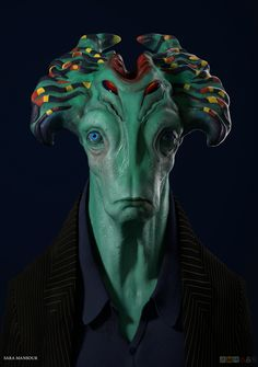 Post with 2719 votes and 109998 views. Tagged with mildly interesting, art, awesome, drawings, the more you know; Shared by Judazee. Other worldly faces Humanoid Creatures, Alien Creatures, Fantasy Creatures, Alien Character, 3d Model Character, Character Art, Aliens And Ufos, Ancient Aliens, Creature Feature
