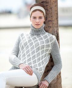 Вязание свитеров с подробной схемой 6
