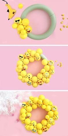 Emoji Decorating Ideas Craft Diy Crafts Teen Festa