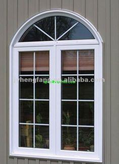 U. Pvc s/upvc/de plástico - acero/de aluminio de doble hoja de la ventana abatible y fabricante de la puerta ( 2 o 3 sash ), doble ventana, el diseño de la parrilla-Ventanas-Identificación del producto:619336449-spanish.alibaba.com