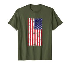 a9160dacefc Distressed American Flag T-Shirt USA Patriotic Tee Shirt Fourth of July Men  Women Kids T Shirt by Scar Design. Great for Fathers Day and of July.