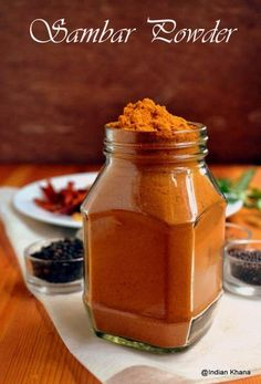 Homemade Sambar Powder ~ Curry Powder