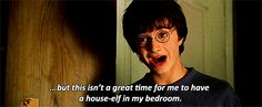When his needs weren't being met and he wasn't having ANY of it.   28 Times Harry Potter Was Out Of Control Sassy