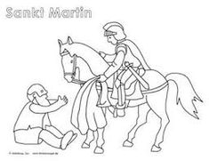 Bildergebnis für st. martin ausmalbilder Free Printable Coloring Pages, Coloring Pages For Kids, Adult Coloring, Hl Martin, Religion, Holiday Program, Halloween, Winter, Google