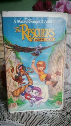 New in our shop! Free US Shipping / 1991 Vintage VHS / Walt Disney / The Rescuers Down Under /Black Diamond / Cl... https://www.etsy.com/listing/524942869/free-us-shipping-1991-vintage-vhs-walt?utm_campaign=crowdfire&utm_content=crowdfire&utm_medium=social&utm_source=pinterest