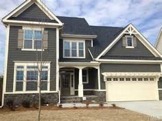 Paint red doors and home on pinterest - Sherwin williams thunder gray exterior ...